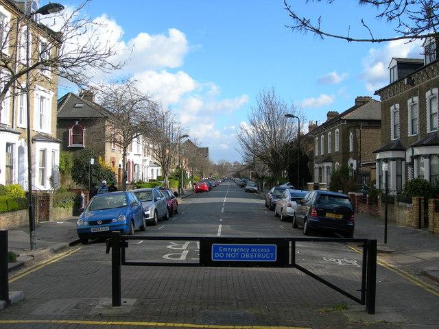 Finsbury Park Road, N4
