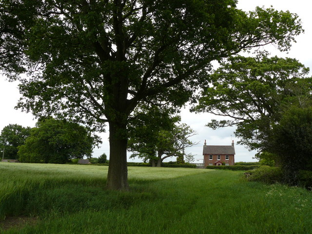 Fountain House from across fields