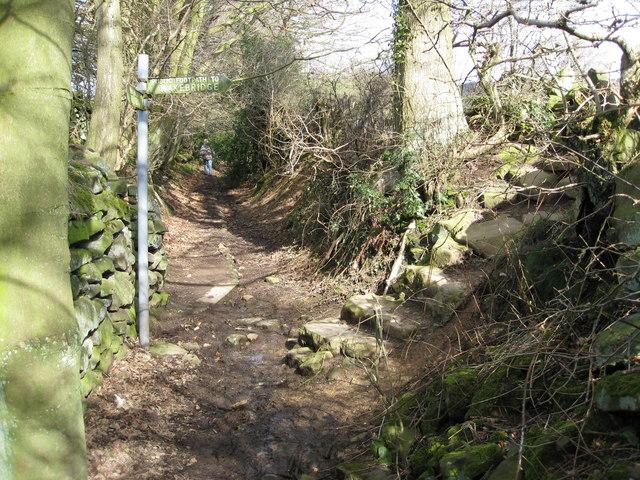 Public Footpath to Wakebridge