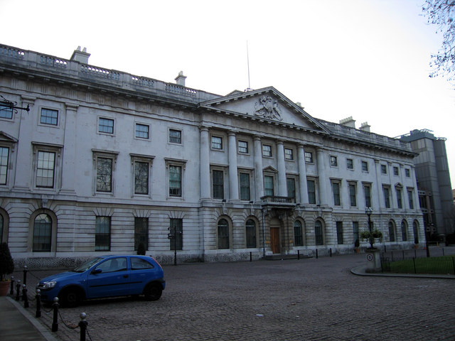 The old Royal Mint building