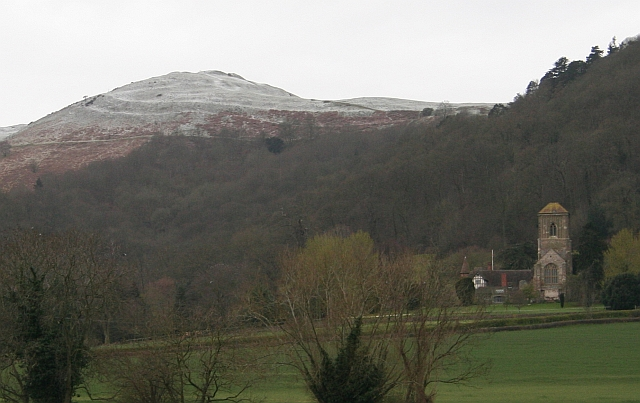 Little Malvern Priory on Easter Monday