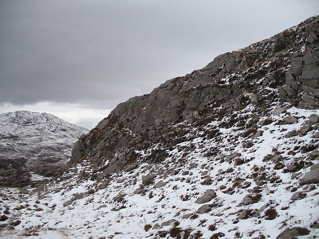 Crags, Maol Mòr Glac nan Cnàmh