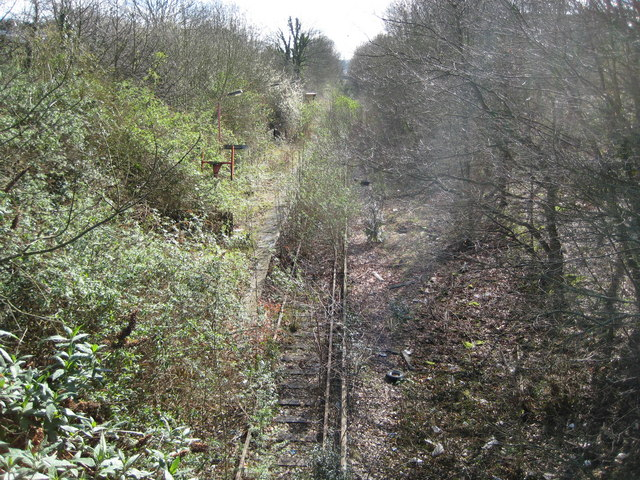 Watford West railway station (disused)