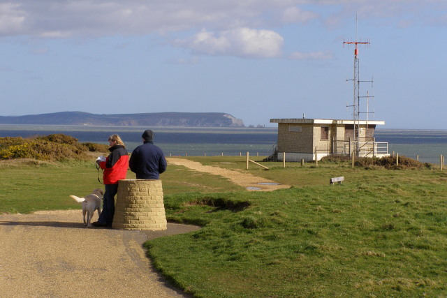 View from the triangulation pillar, Hengistbury Head