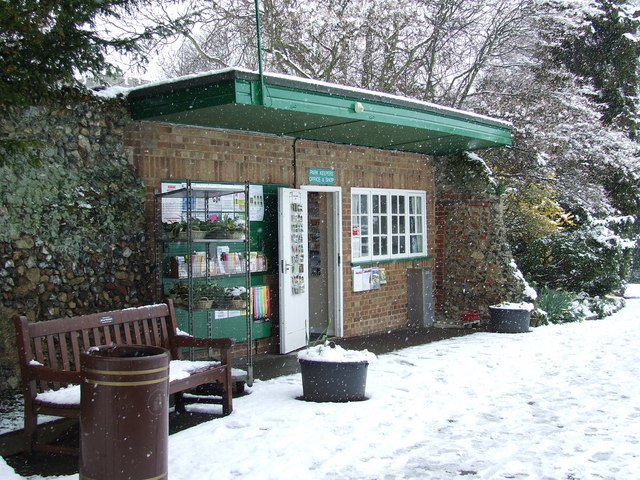 Park keepers office and shop