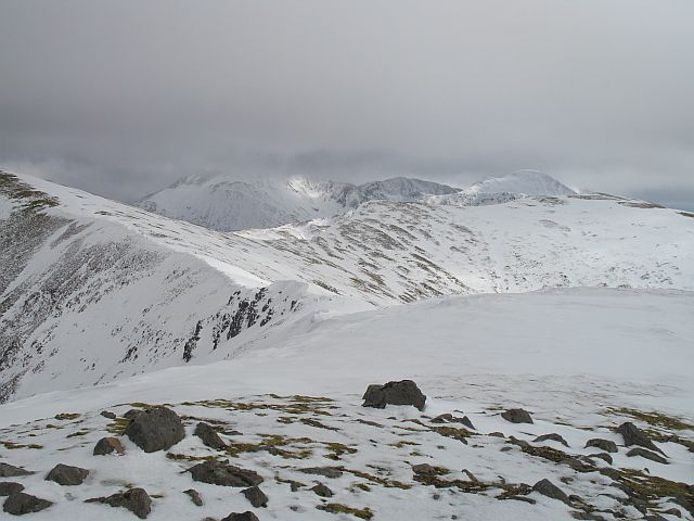 Ridge above Coire a' Mhuillin