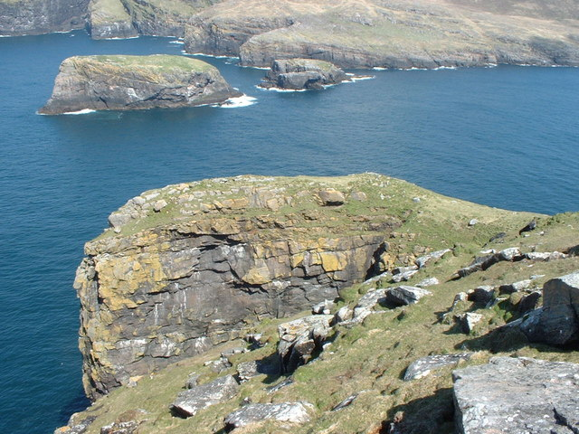 Dun Briste, Sound of Berneray and southern Mingulay