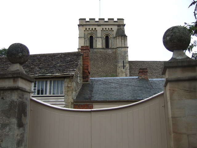 Iffley church tower