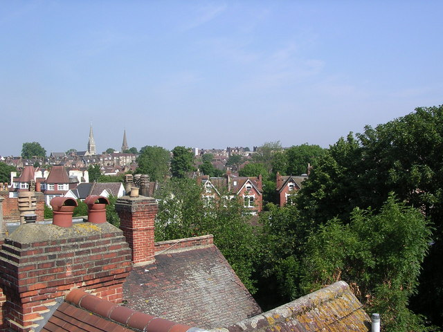 Streatham roof tops