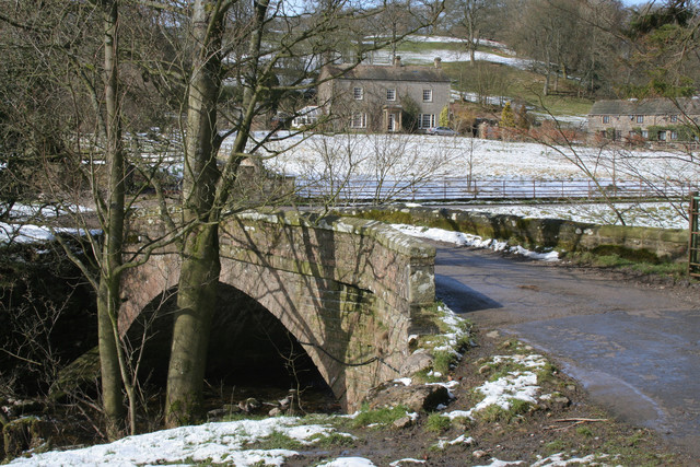 Bridge over Winterburn Beck