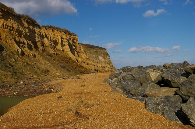 Cliffs at Fairlight Cove
