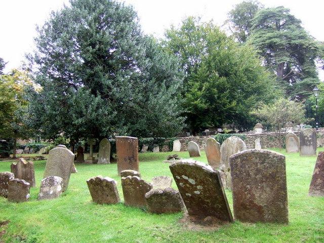 Iffley churchyard