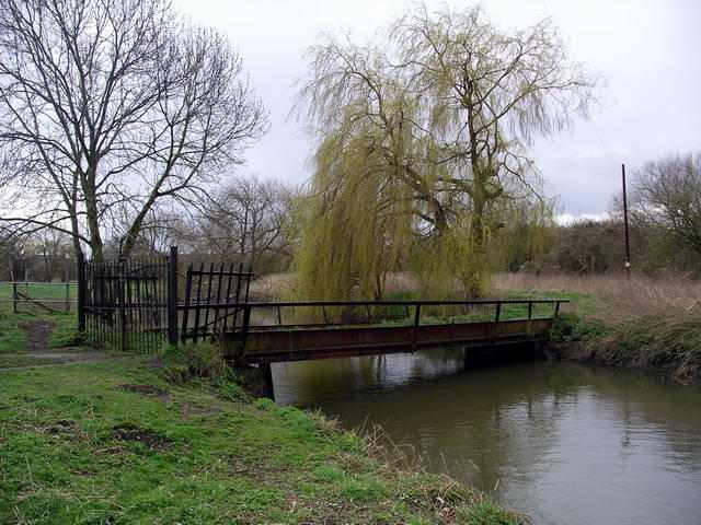 Bridge, Attenborough Nature Reserve