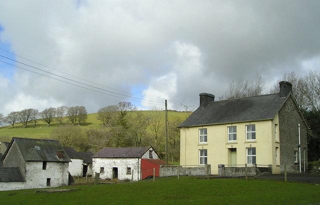 Farm near Capel-y-Groes