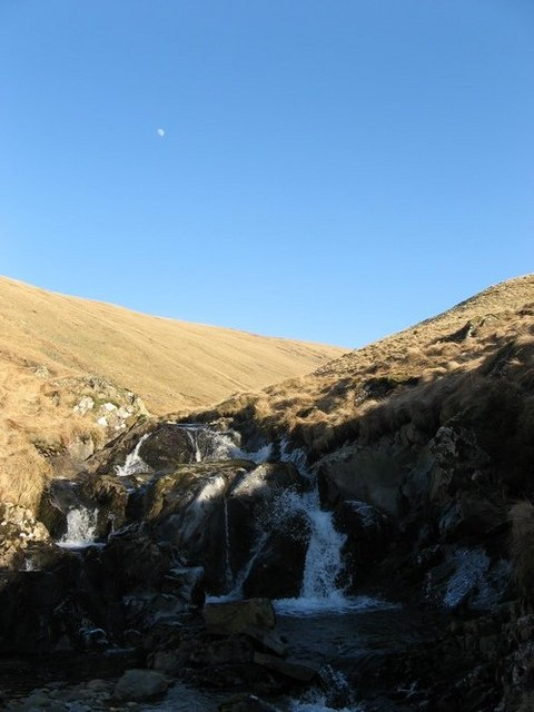 Waterfall in Donald's Cleuch