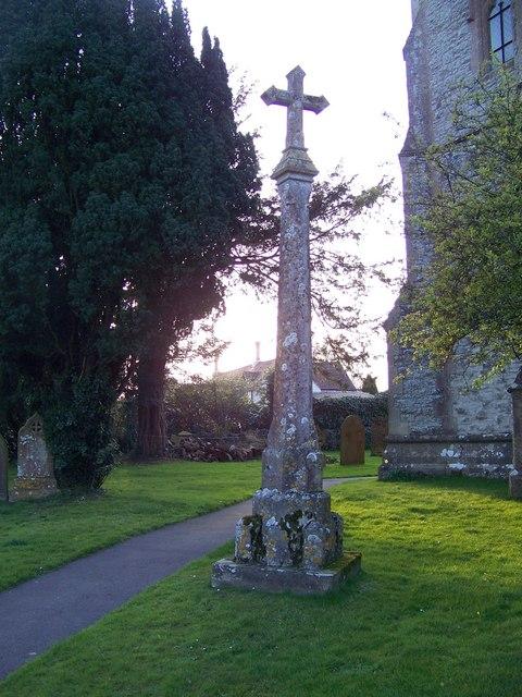 Cross, St Martin's Church, Zeals