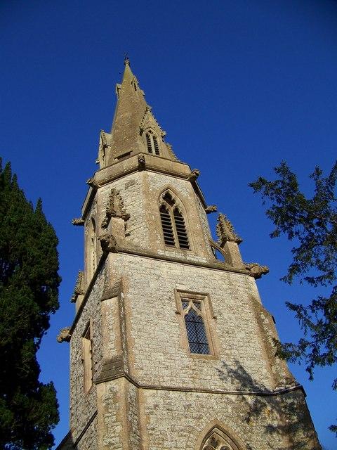 Spire, St Martin's Church, Zeals