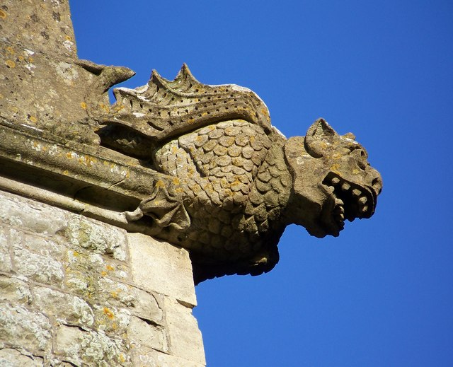 Gargoyle, St Martin's Church, Zeals