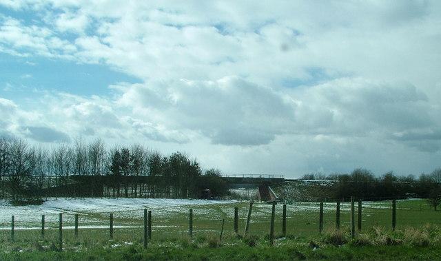 Railway Bridge over A66