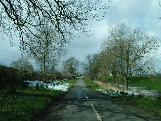 Road into Brampton Village