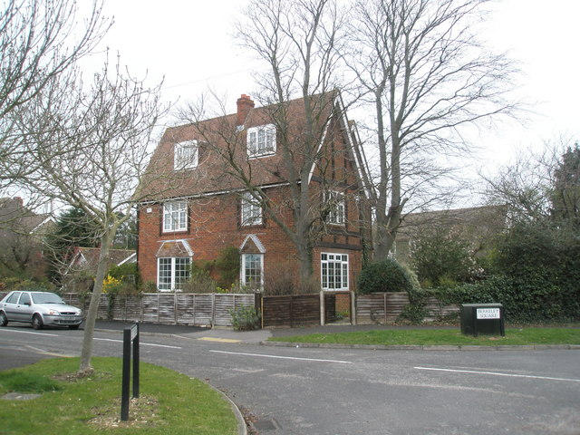 House on corner of Berkeley Square and Southleigh Road