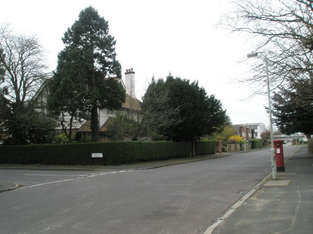 Junction of Warblington and St George's Avenue