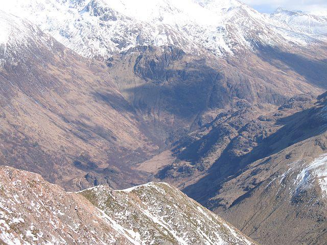 Northeast ridge, Mullach nan Coirean