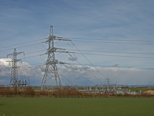Electricity sub-station, Near Gretna