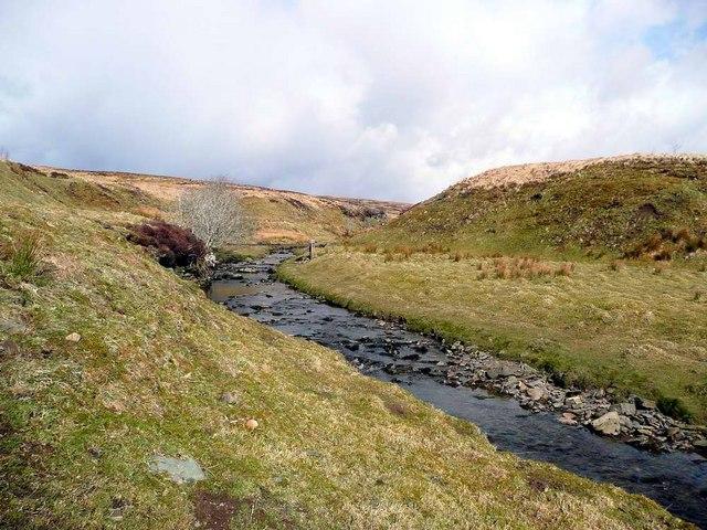 Small bridge over the Dipple Burn