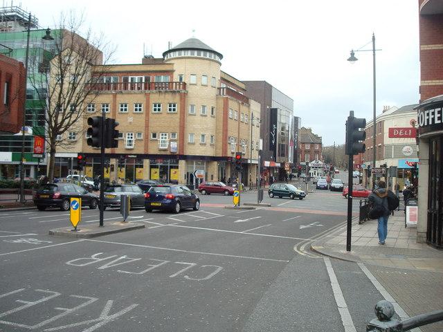 Wimbledon Bridge / Wimbledon Hill Road, London SW19