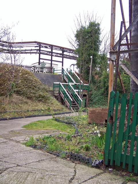 Entrance to Sittingbourne and Kemsley Light Railway
