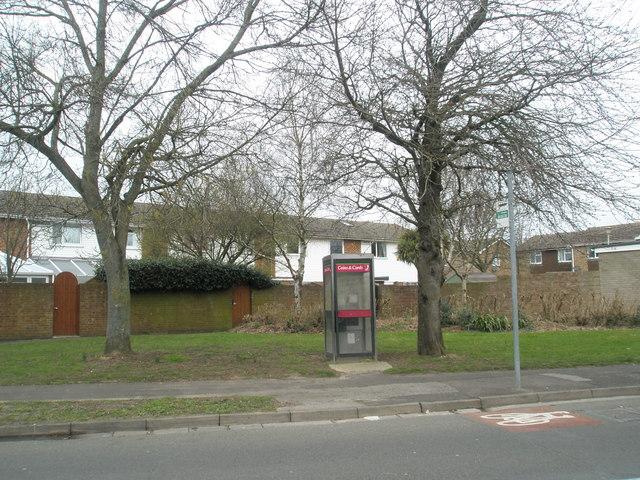 Phonebox near Nutwick Road