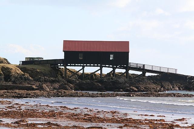 Boathouse and Slipway, Dunaverty