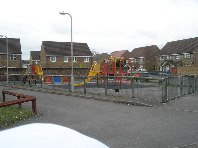 Playpark in Rowan Road