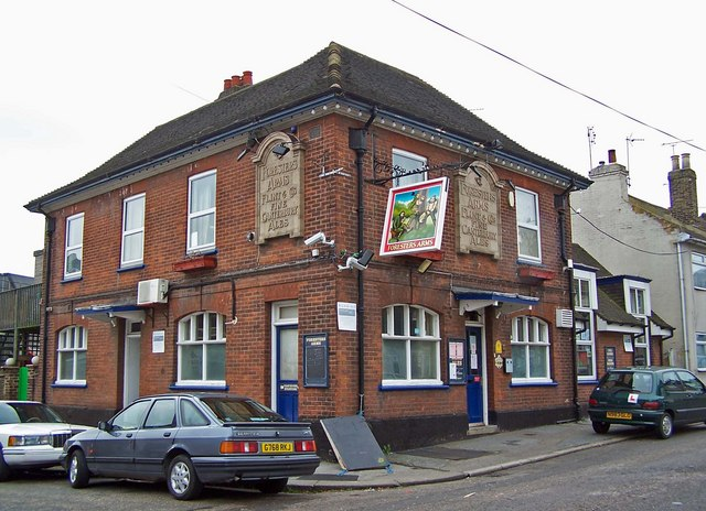 The Foresters Arms public house, Charlotte Street