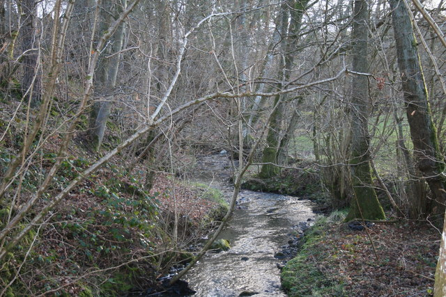 Stream past Pentre