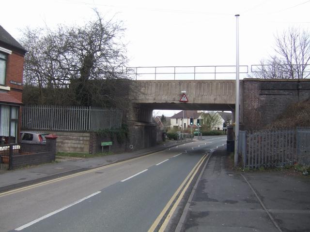 Low Bridge in Station Road, Great Wyrley