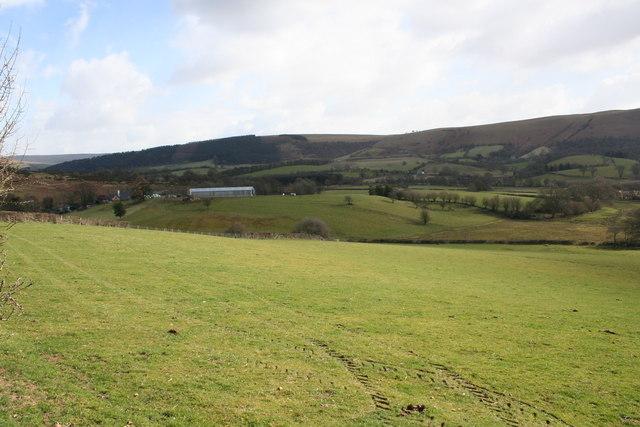 Farm near  Perthi Common