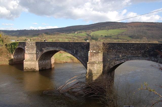 The bridge at Newbridge-on-Usk