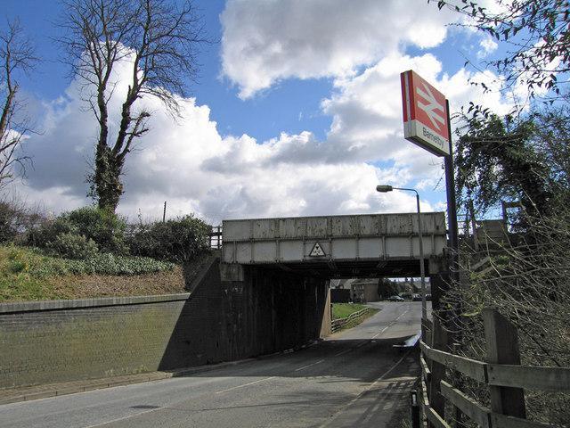 Railway Bridge at Barnetby-le-Wold