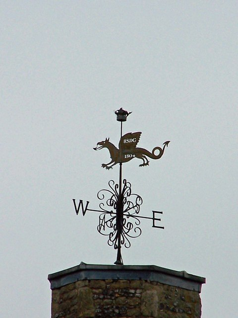Weather vane on St Mary's Church