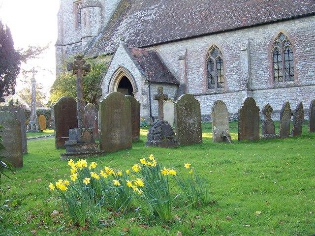 Churchyard, St Martin's Church, Zeals