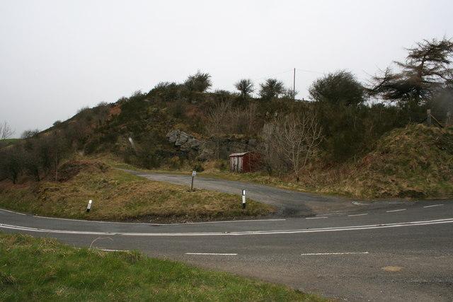 Wagon on the hillside