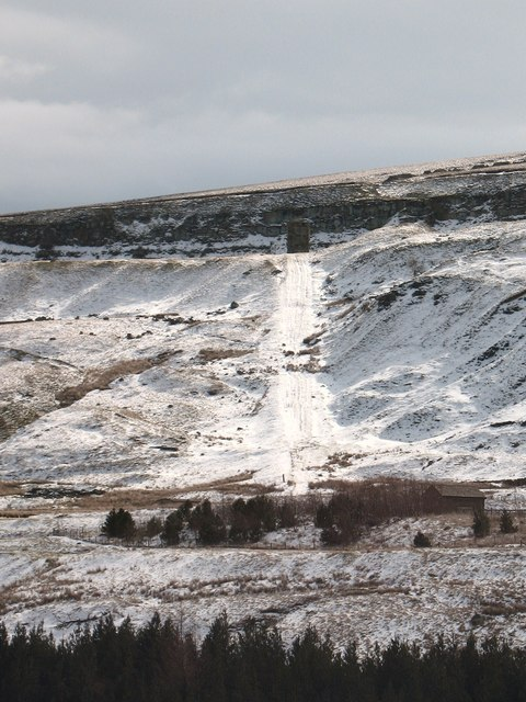 Incline to Old Scar Quarry