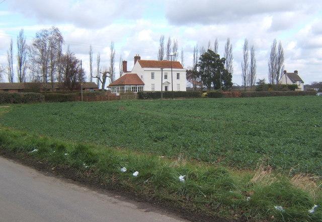 Fordham Place, northeast of Fordham village