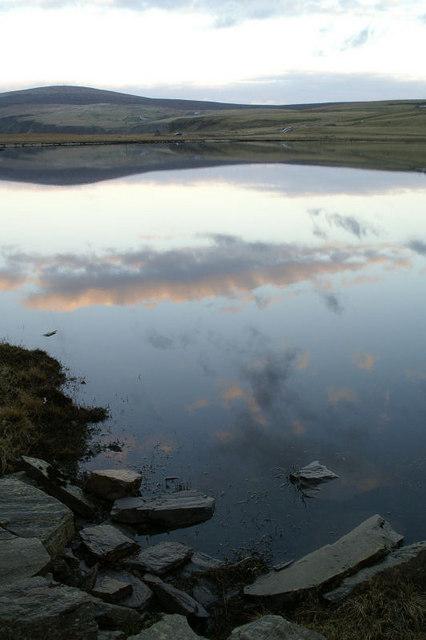 Loch of Cliff at dusk