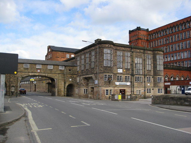 Belper -  East Mill and  Offices