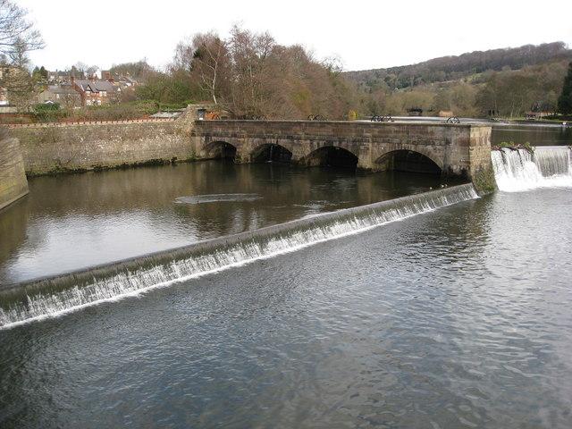 Belper - River Derwent Weirs