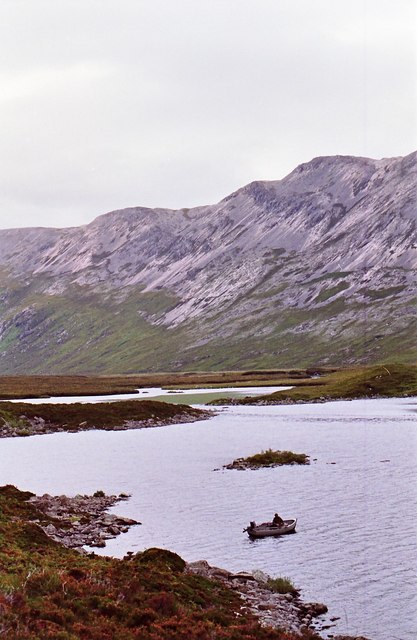 The nor'west corner of Loch Dionard