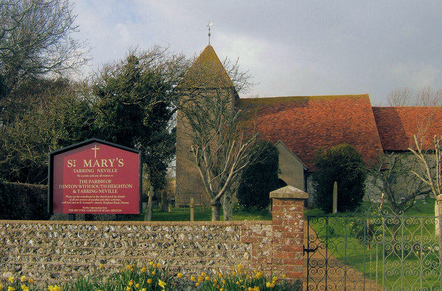 St Mary's Church, Tarring Neville, East Sussex